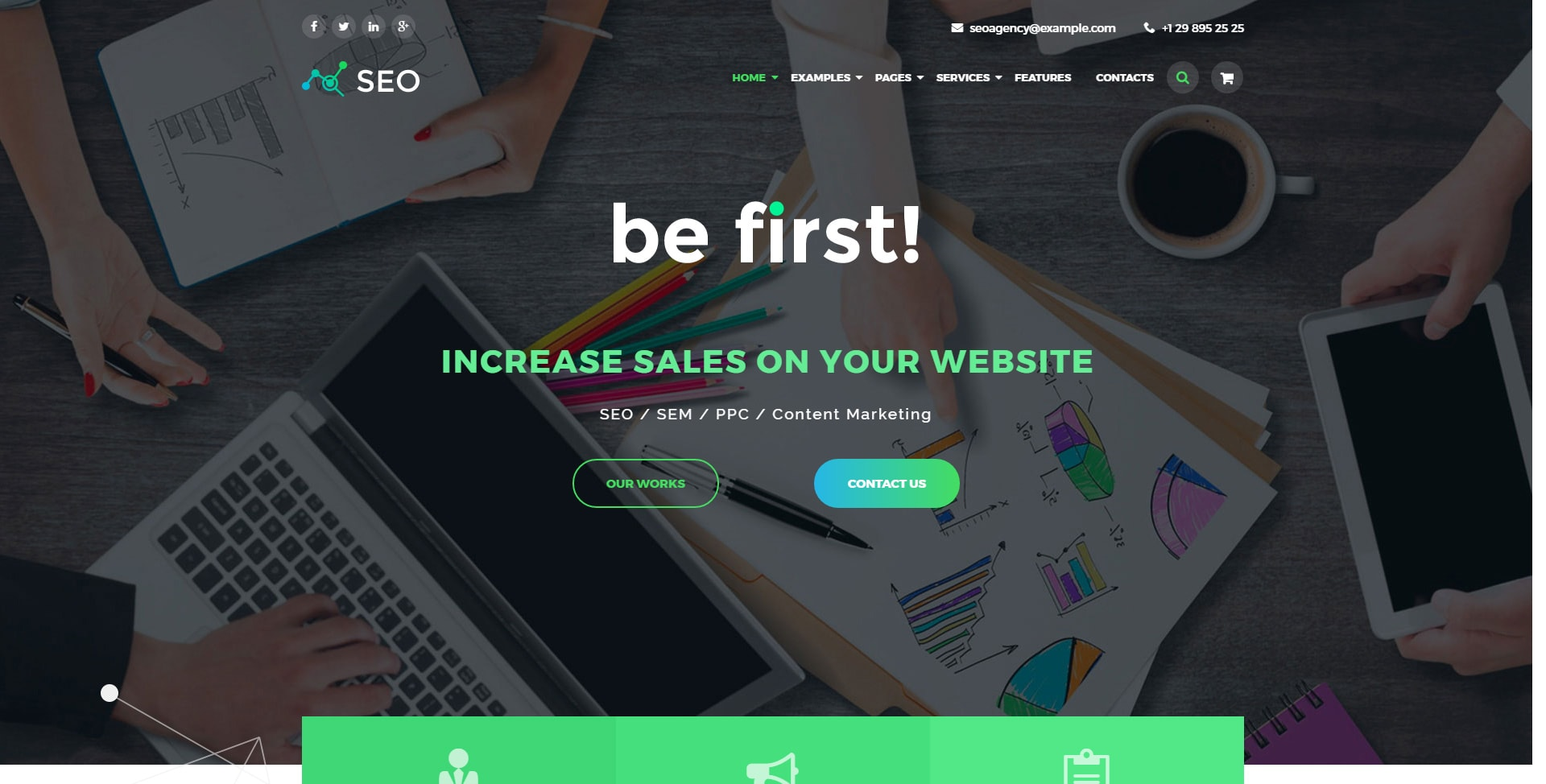 The SEO Digital Marketing Agency WordPress Theme