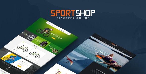 Ves Sportshop Magento 2 Responsive Template