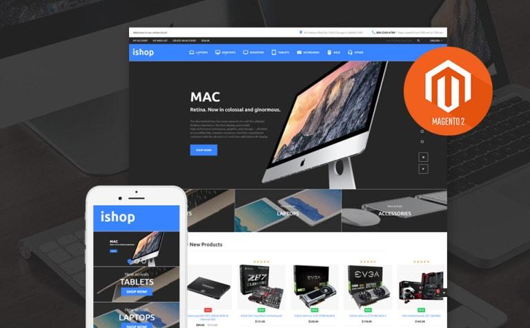 iShop Electronic Magento 2 Theme