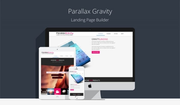 Parallax Gravity Page Builder Plugin