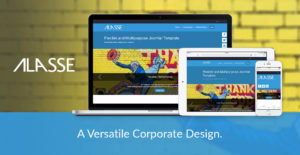 Alasse Joomla Template for Corporate Web Design