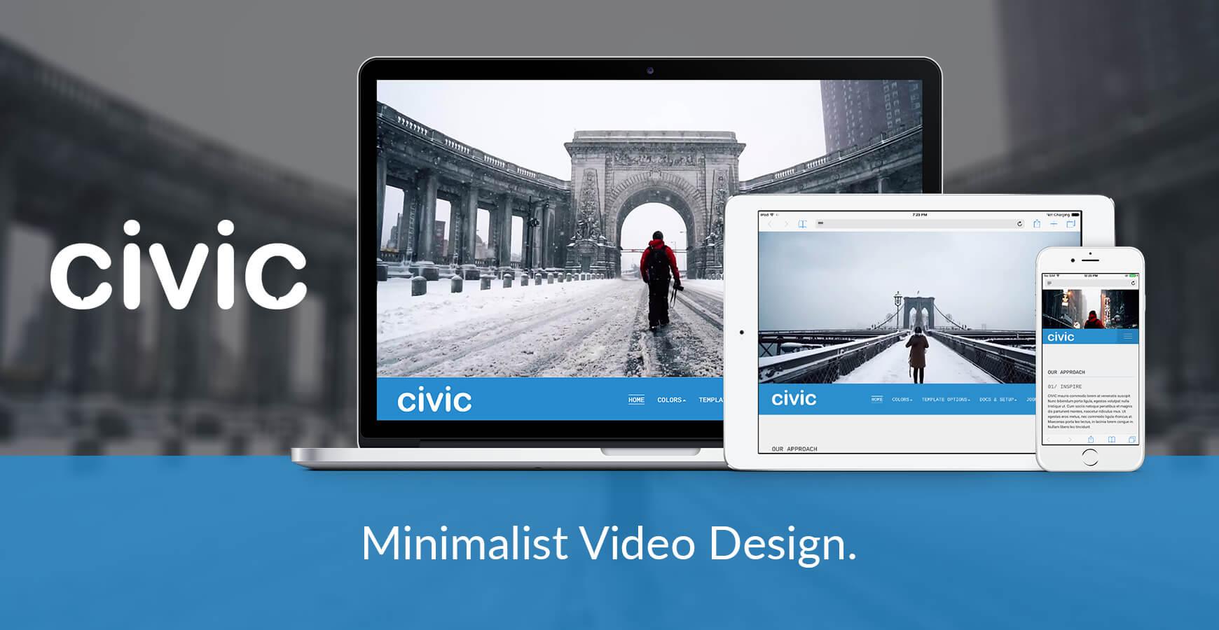 Civic Joomla Template