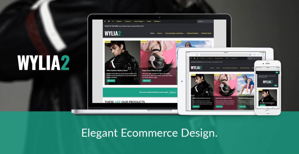 Wylia Joomla Template for e-Commerce