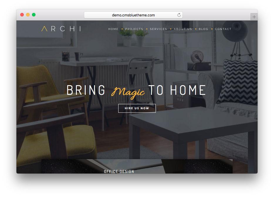 Archi-Premium-Interior-Design-Joomla-Template