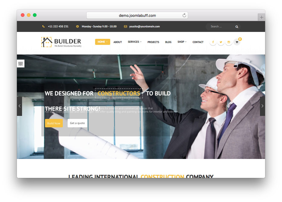 Builder-Building-&-Construction-Joomla-Template