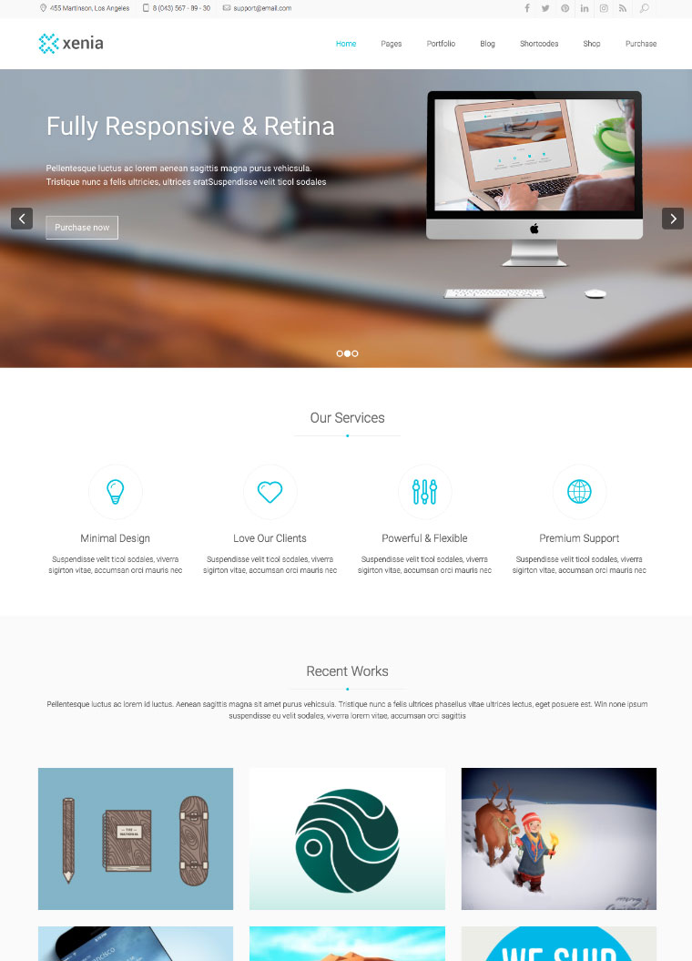 Xenia-Refined-WordPress-Corporate-Theme