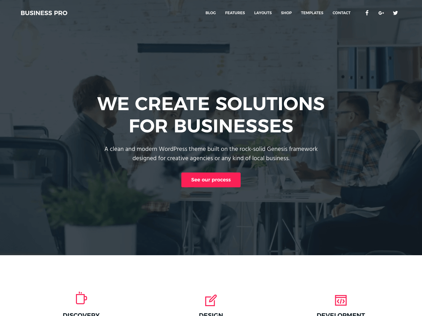 Business Pro Corporate WordPress Theme