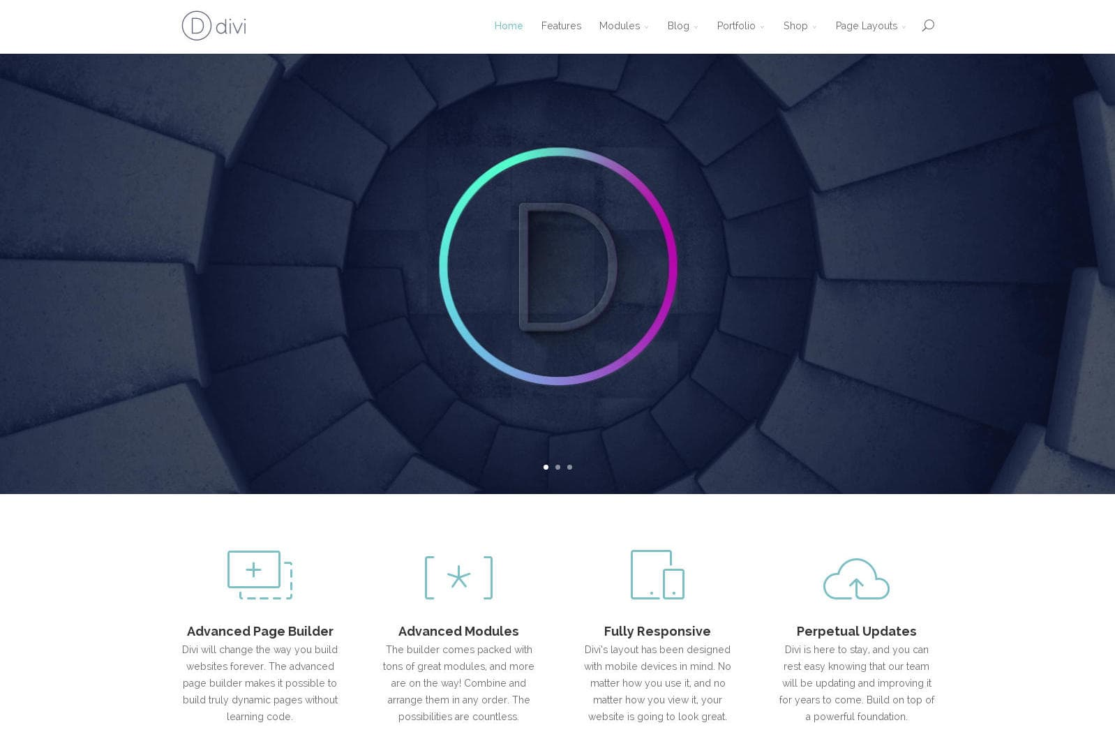 Divi Corporate Business WordPress Theme