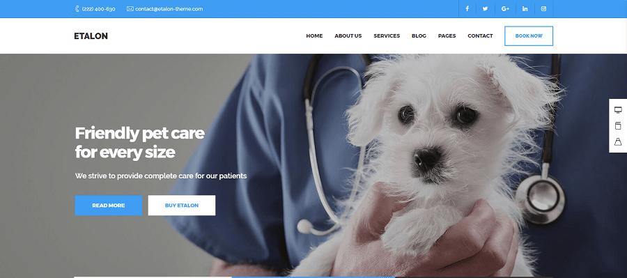 Etalon Corporate Business WordPress Theme