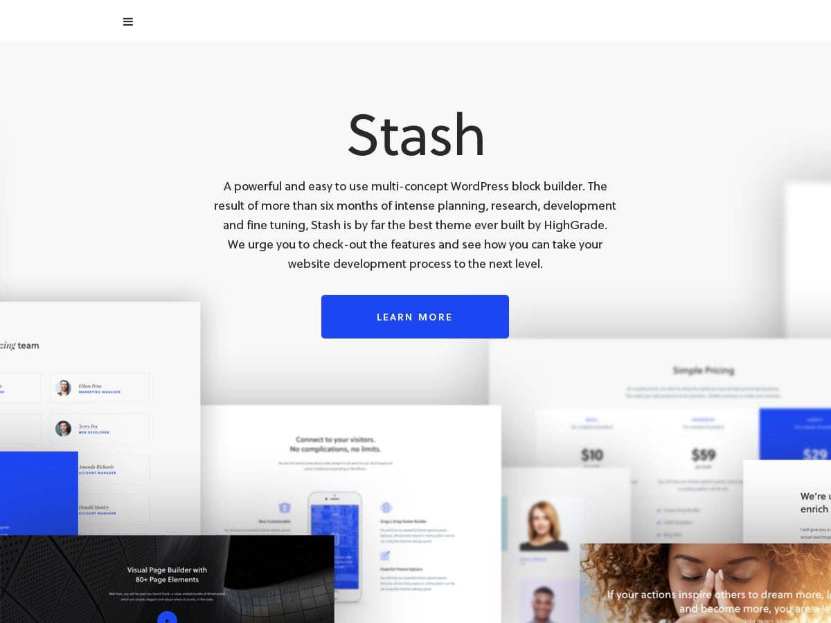 Stash Corporate Business WordPress Theme