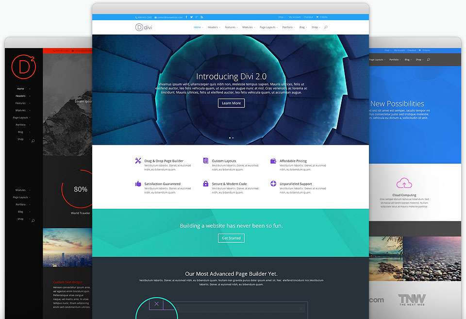 Divi Best Small Business WordPress Theme
