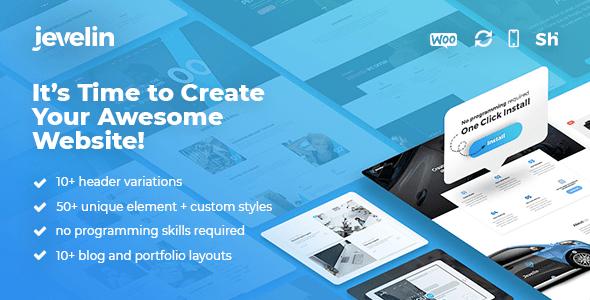 Jevelin Multi-Purpose WordPress Theme
