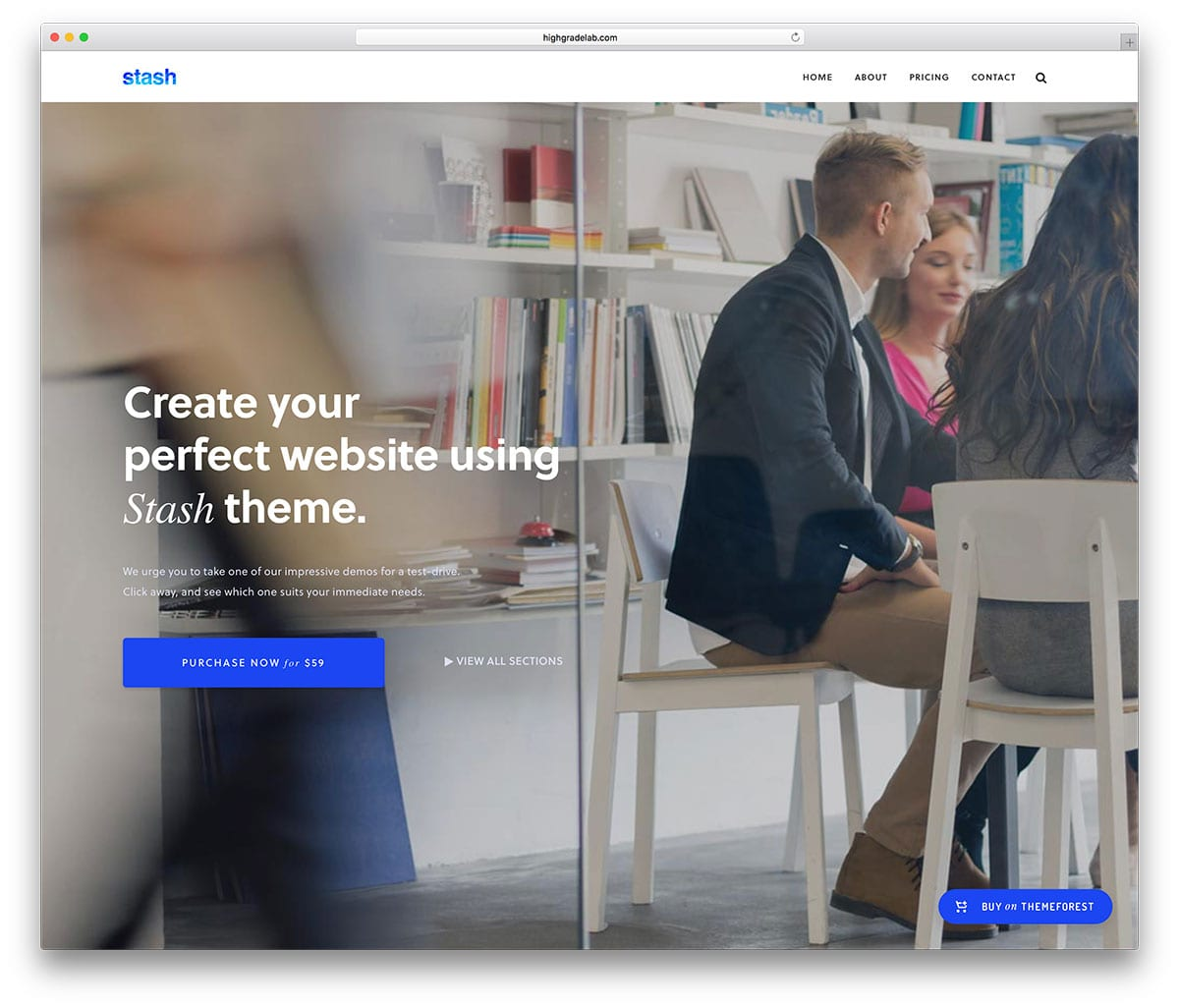 Stash Best Small Business WordPress Theme