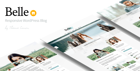Belle Responsive WordPress Blog Theme