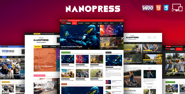 Nanopress WordPress Instagram Theme